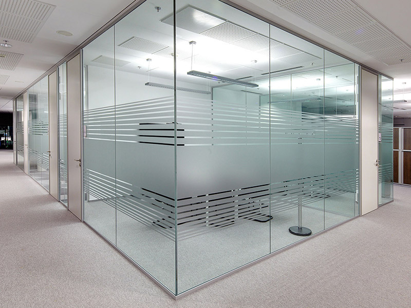 Sand Blasting Glass Shower Partitions and Cubicles Mirror Suppliers